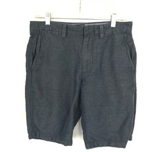 J. Crew Irish Linen Blend pinstripe shorts 29